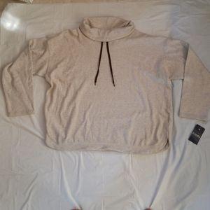 Chaps High Neck Cowl Neck Sweater Size XXL